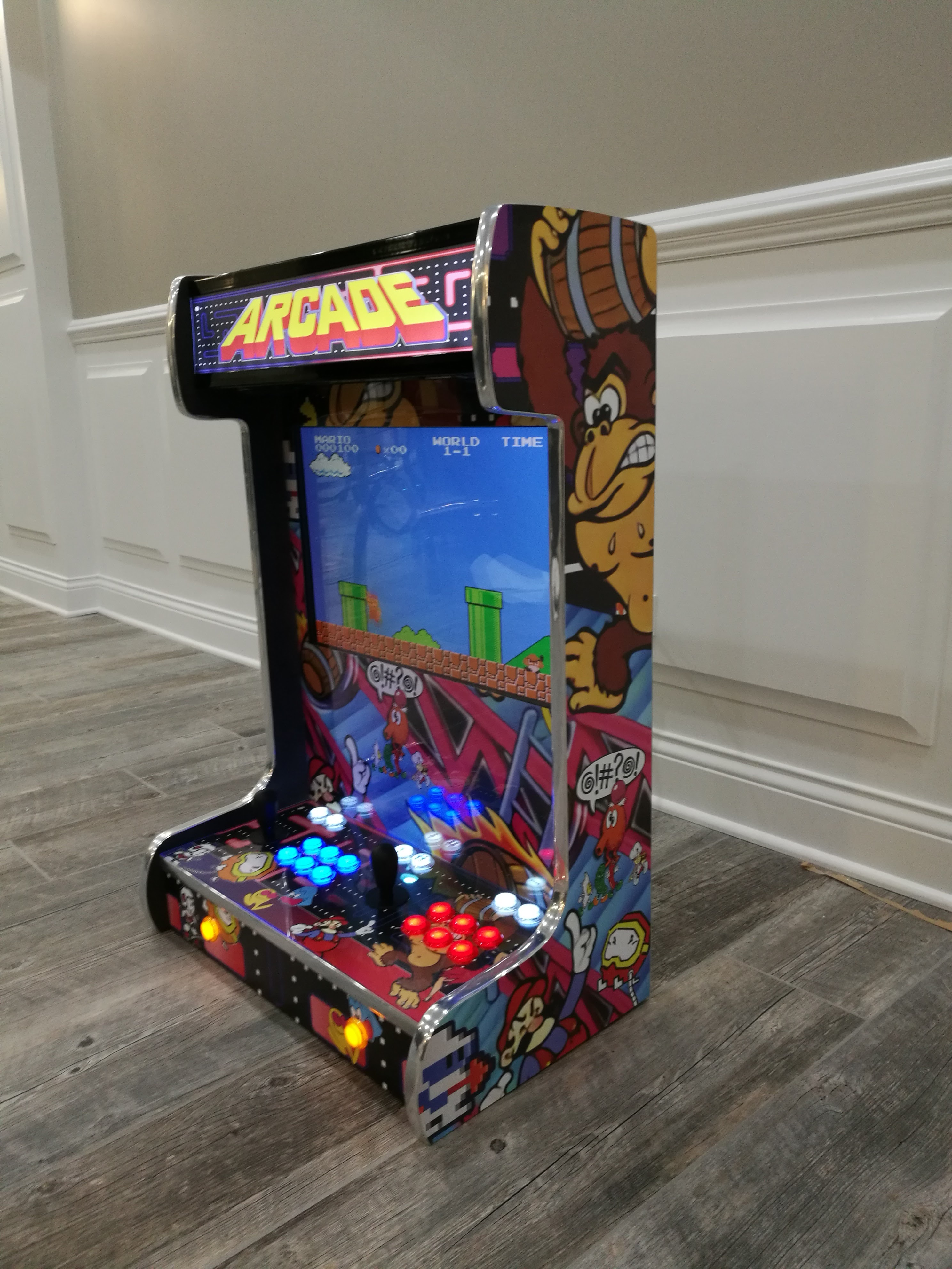 Basement Arcades Customizable Table Or Wall Mounted