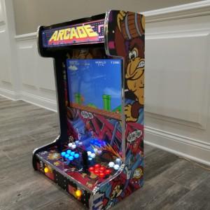 Arcade Collage Chrome (Right)