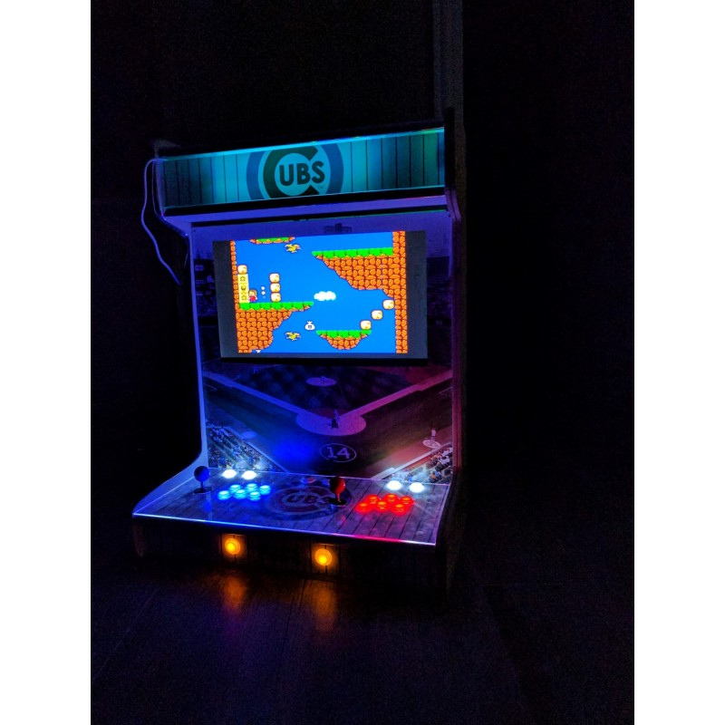 wallcade classic arcade wall mountable play thousands of games
