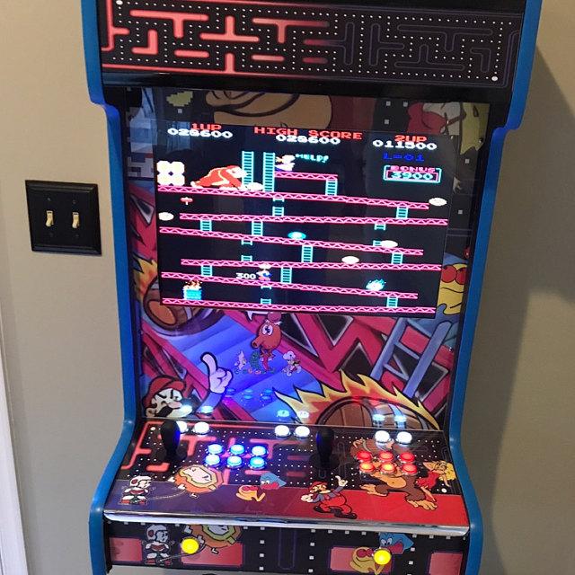 Wallcade Classic Arcade - Wall mountable - Play thousands of